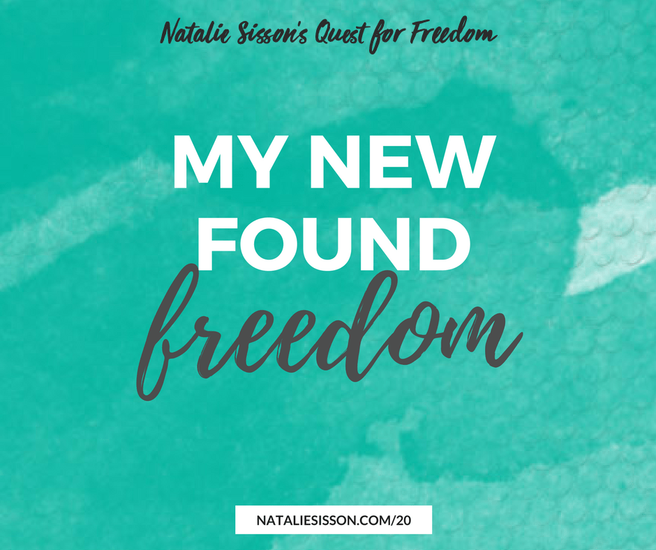 My New Found Freedom
