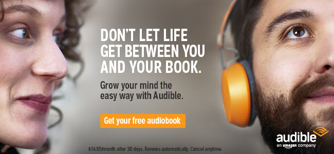 Audible - The secret weapon to help you read more books in less time
