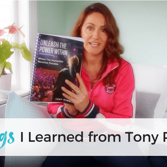 3 Lessons I Learned from Tony Robbins