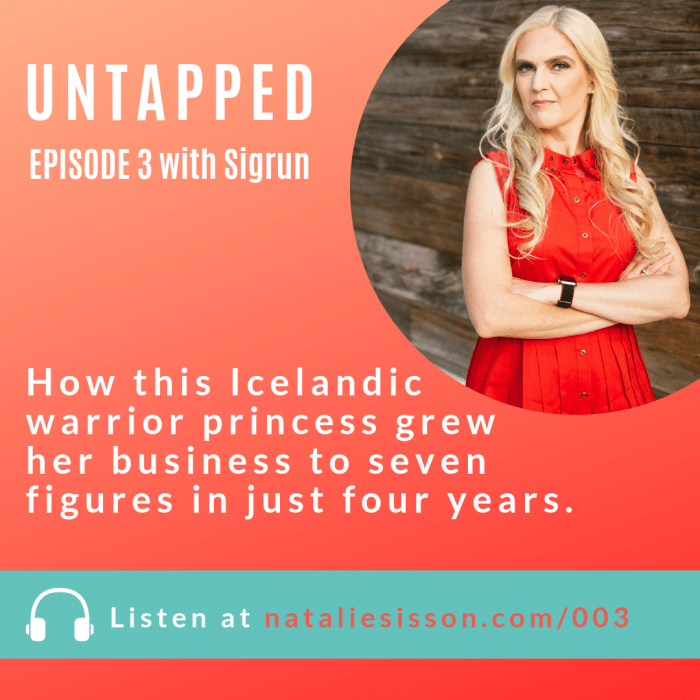 How Sigrun Grew Her Business to Seven Figures in Four Years