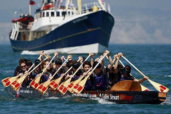Dragon Boating World Record with the Sisterhood