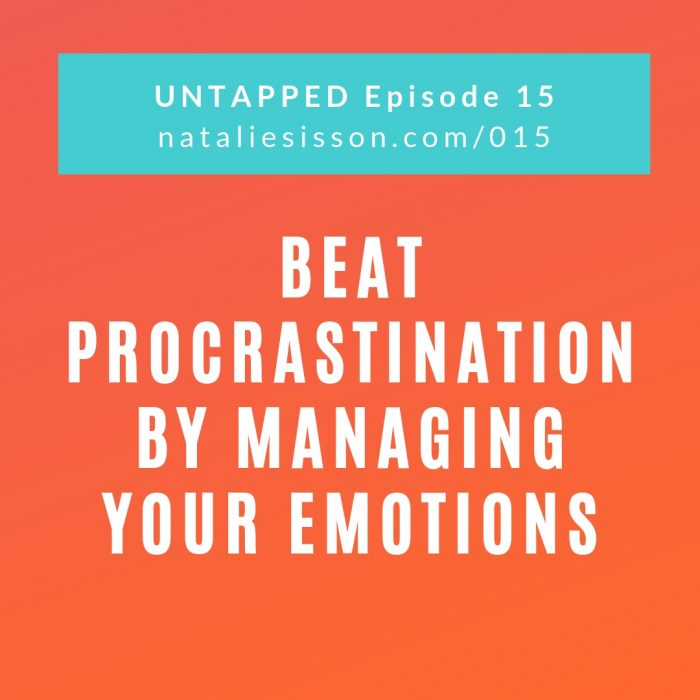 Beat Procrastination by Managing Your Emotions